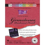 Core'dinations - Gemstones - 4.25 x 5.5 Color Core Cardstock Pack