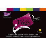 Core'dinations - Core Tags - Textured Brights Assorted