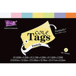 Core'dinations - Core Tags - Textured Pastels Assorted