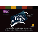 Core'dinations - Core Tags - Textured Darks Assorted
