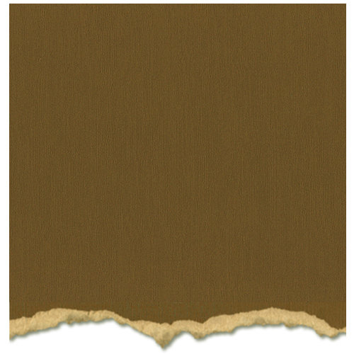 Core'dinations - Tim Holtz - Distress Collection - 12 x 12 Textured Cardstock - Frayed Burlap