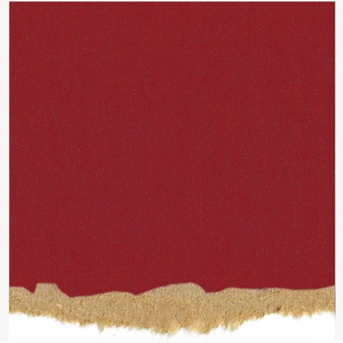 Core'dinations - Tim Holtz - Nostalgic Collection - 12 x 12 Textured Kraft Core Cardstock - Ruby Red