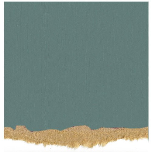 Core'dinations - Tim Holtz - Nostalgic Collection - 12 x 12 Textured Kraft Core Cardstock - Medium Teal