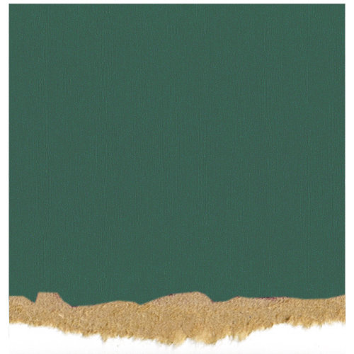 Core'dinations - Tim Holtz - Nostalgic Collection - 12 x 12 Textured Kraft Core Cardstock - Montana Green