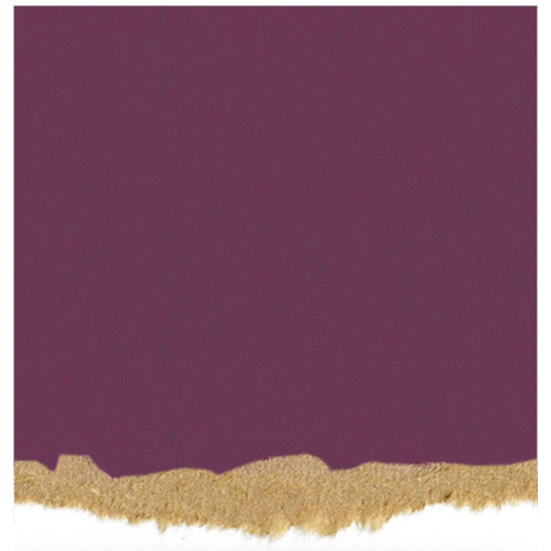 Core'dinations - Tim Holtz - Nostalgic Collection - 12 x 12 Textured Kraft Core Cardstock - Grape