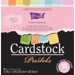 Core'dinations - Pastels - 12 x 12 Textured Color Core Cardstock Pack