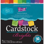 Core'dinations - Brights - 12 x 12 Textured Color Core Cardstock Pack
