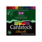 Core'dinations - Essentials Collection - 6 x 6 Color Core Cardstock Pack - Darks