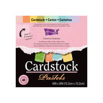 Core'dinations - Essentials Collection - 6 x 6 Color Core Cardstock Pack - Pastels