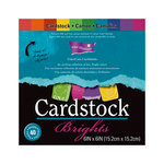 Core'dinations - Essentials Collection - 6 x 6 Color Core Cardstock Pack - Brights