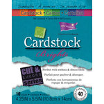 Core'dinations - Brights - 4.25 x 5.5 Textured Color Core Cardstock Pack