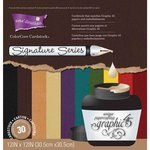 Graphic 45 - Core'dinations - Signature Series Collection - 12 x 12 Textured Color Core Cardstock Pack
