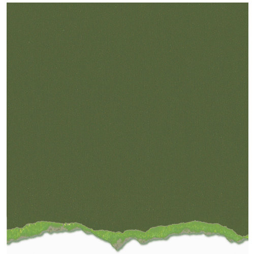 Graphic 45 - Core'dinations - Signature Series Collection - 12 x 12 Textured Color Core Cardstock - Antique Moss