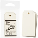 Core'dinations - Core Tags - Small - Ivory