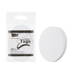 Core'dinations - Core Tags - Large - Oval - White