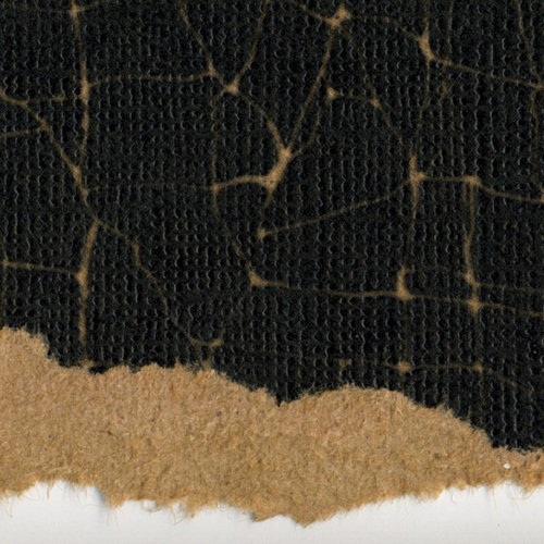 Core'dinations - Tim Holtz - Shattered Collection - 12 x 12 Textured Kraft Core - Number 24