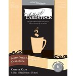 Core'dinations - 8.5 x 11 Adhesive Cardstock - Coffee Cafe