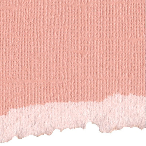Graphic 45 - Core'dinations - Signature Series Collection - 12 x 12 Textured Color Core Cardstock - Precious Pink