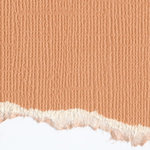 Graphic 45 - Core'dinations - Signature Series Collection - 12 x 12 Textured Color Core Cardstock - Sweet Apricot