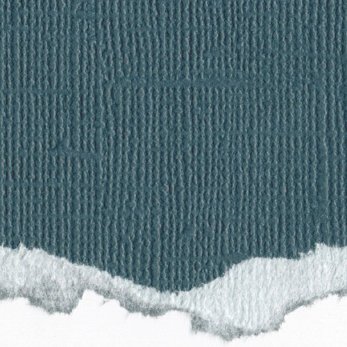 Graphic 45 - Core'dinations - Signature Series Collection - 12 x 12 Textured Color Core Cardstock - Blue Lagoon