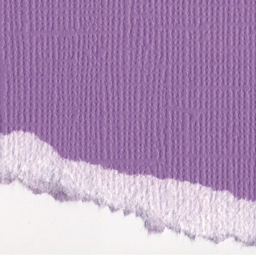 Graphic 45 - Core'dinations - Signature Series Collection - 12 x 12 Textured Color Core Cardstock - French Lilac