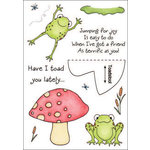 Inky Antics - HoneyPOP Collection - Clear Acrylic Stamps - Frog Set
