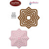 JustRite - Spellbinders - Die Cutting and Embossing Template - Nested Medallion Labels