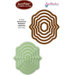 JustRite - Spellbinders - Die Cutting and Embossing Template - Nested Oval Medallion Labels