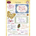 JustRite - Clear Acrylic Stamps - Grand Sentiments