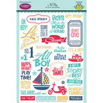 JustRite - Clear Acrylic Stamps - All Boy