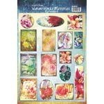 Ken Oliver - Watercolored Memories Collection - Ephemera Cut Apart Sheet