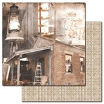 Ken Oliver - Hometown Collection - 12 x 12 Double Sided Paper - The Livery Stable