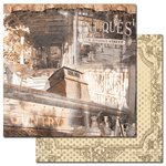 Ken Oliver - Hometown Collection - 12 x 12 Double Sided Paper - A Country Store