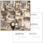 Ken Oliver - Hometown Collection - 12 x 12 Double Sided Paper - 4 x 6 Journaling Postcards
