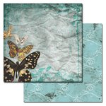 Ken Oliver - Studio Collection - 12 x 12 Double Sided Paper - Butterfly Afternoon