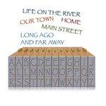 Ken Oliver - Pegz Clickable Letterz Stamp Set - Uppercase Set