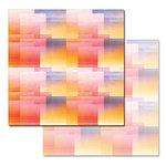 Ken Oliver - Pitter Patterns Collection - 12 x 12 Double Sided Paper - Sunset Palette