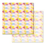 Ken Oliver - Pitter Patterns Collection - 12 x 12 Double Sided Paper - Kaleidoscope