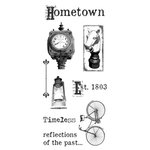 Ken Oliver - Hometown Collection - Clear Acrylic Stamps - Set 1