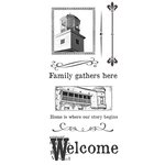 Ken Oliver - Hometown Collection - Clear Acrylic Stamps - Set 2