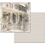 Ken Oliver - Hometown Cottage Collection - 12 x 12 Double Sided Paper - Front Porch