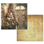 Ken Oliver - Hometown Christmas Collection - 12 x 12 Double Sided Paper - Deck the Halls