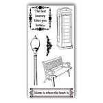 Ken Oliver - Hometown Cottage Collection - Clear Acrylic Stamps - Set 1