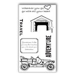 Ken Oliver - Covered Bridges Collection - Clear Acrylic Stamps - Set 1