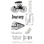 Ken Oliver - Covered Bridges Collection - Clear Acrylic Stamps - Set 2
