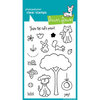 Lawn Fawn - Clear Acrylic Stamps - Critters in the Burbs