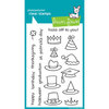 Lawn Fawn - Clear Acrylic Stamps - Hats Off to You
