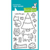 Lawn Fawn - Clear Acrylic Stamps - Critters in the Forest
