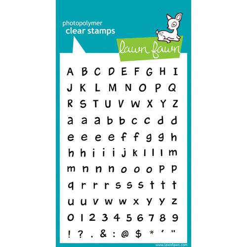 Lawn Fawn - Clear Acrylic Stamps - Harold's ABCs