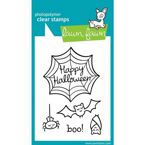 Lawn Fawn - Clear Acrylic Stamps - Halloween - Heebie Jeebies